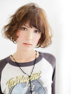 hairstyle - Rough Casual Bob