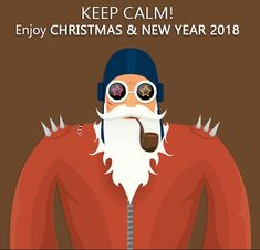 Image for Christmas and New Year 2018 Funny WhatsApp DP