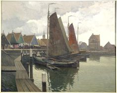 Haven Volendam, Anthonie Pieter Schotel (1890-1958)