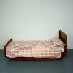 Vintage Teak Single Bed