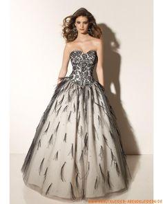 2012 Liebstes elegantes Ballkleid aus Tüll mit Spitze