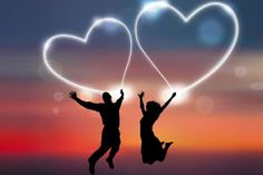 couple jump with love heart, find more Love Pictures on LoveIMGs. LoveIMGs is a free Images Pinboard for people to share love images. Love Images, Love Pictures, Love Couple Images, Hd Images, Prayer For Love, Dua For Love, God Prayer, Romantic Love, Romantic Couples