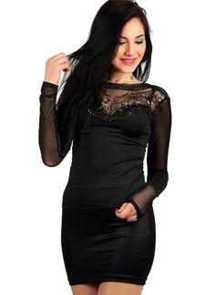 Bayan Bluz Yaka Taşlı Kollar Transparan | Modelleri ve Uygun Fiyat Avantajıyla | Modabenle