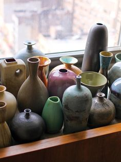 Love pottery…beautiful colors