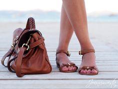 Mulberry Regular Alexa & Bow Sandals