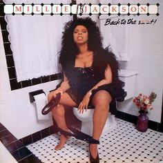 """Millie Jackson- """"Back to the S."""" The Best, Worst & Most Controversial Album Covers of All-Time Worst Album Covers, Cool Album Covers, Music Covers, Smosh, Bad Cover, Cover Art, Mona Lisa, In Pantyhose, Bad Album"""