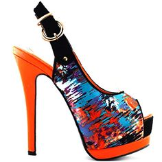 cbb7f71349e68 438 Best Multi-Colored Footwear images in 2019 | High heel ...