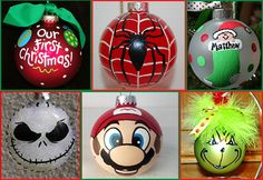 Decorate Christmas ornaments with our waterproof markers. Great for kids to decorate with or they make great gifts!