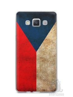 Capa Capinha Samsung A7 2015 Bandeira da República Tcheca
