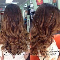 Balayage highlights, haircut, and style by Becca. Studio Chroma Inc. Miami, FL #haircut #hairstyle #haircolor #hairpost #ombre #nauralombre #blondeombre #subtleombre #sombre #miamiombre #balayage #highlights #blondehair  #brunette #longhair #beachhair #beachwaves #perfecthair #gorgeoushair #hairstylist #hairdresser #miamihair #miamistylist #miamihairstylist #miamisalon #coralgables #miraclemile #studiochromainc