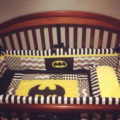 Batman crib bedding