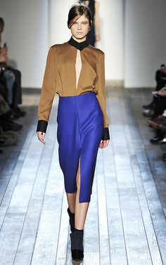Cobalt CRAZY // Cobalt Blue Fashion Trend: Fall 2013 | Get Scrooged