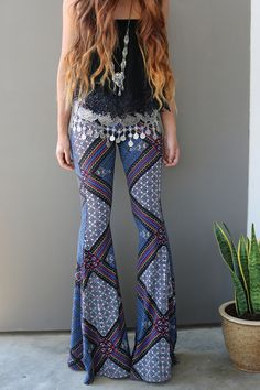 Just bought these.they are so beautiful I cannot WAIT to wear them! Hippie Style, Hippie Boho, My Style, Bohemian Soul, Bohemian Summer, Bohemian Lifestyle, Leggings Are Not Pants, Flowy Pants, Comfy Pants