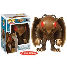 Songbird Pop Vinyl Figure from the Bioshock Infinite game Brought to you by Pop In A Box, the site Funko Pop! Vinyl shop