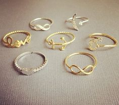 midi rings #gold #silver WE need at store please,,,,,