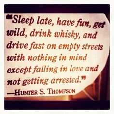 Love  life  & whiskey