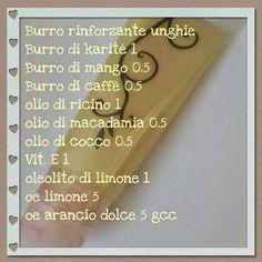 Il Calderone Alchemico Cosmesi Home Made: BURRO RINFORZANTE PER UNGHIE (Lara B.)