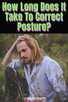 Want to improve your posture and wondering how long does it take to correct posture? Find out here and learn more about posture in general. Posture Correction Exercises, Posture Stretches, Bad Posture, Stretching Exercises, Neck And Shoulder Exercises, Shoulder Workout, Shoulder Posture, Workout List, Workout Guide
