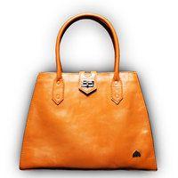 Anna Bag 2.0 Cognac - MICHAEL BARNAART VAN BERGEN fashion designer the Hague green eco honest conscious