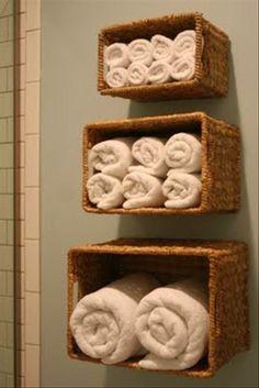 Ideias para organizar banheiro