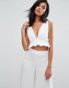 Discover the latest fashion & trends in menswear & womenswear at ASOS. Shop our collection of clothes, accessories, beauty & White Outfits, Cool Outfits, Casual Outfits, Girl Fashion, Fashion Outfits, Fashion Design, Fashion Sites, Fashion Online, Trendy Tops For Women
