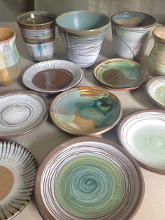Mixing it up - clays, glazes, slips, | Mary Camin | Flickr