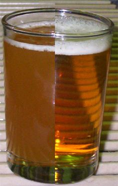 Why do we filter our beers?  The reason is clear!    Repin It!  http://www.glacierbrewing.com