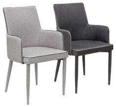 Sit back and relax in these ultra comfy dining carver chairs. Upholstered from head to toe in a tough-wearing fabric, these chairs will enhance your dining room Diy Chair, Sofa Chair, Upholstered Chairs, Kitchen Table Chairs, Balcony Table And Chairs, Dinner Chairs, Restoration Hardware Dining Chairs, Comfortable Accent Chairs, Oversized Chair And Ottoman
