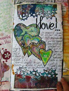 journal art art-journal-inspirations
