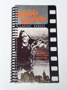King Kong - VHS Movie notebook