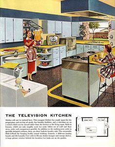 The television kitchen.  Hooray!