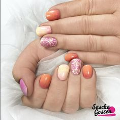 Spring nails with CND™ SHELLAC™ Cake Pop, Sun Bleached, Shells in the Sand, Lecenté glitter (Lecenté loves YOURS) and the new :YOURS loves SASCHA plate.  #cnd #cndshellac #shellac #nail #nails #nailart #nailpro #nailswag #nailaddict #instanails #inspiration #springnails #spring #shellsinthesand #stamping #stampingqueen #stampingplates #stampingnailart #yourscosmetics #yourslovessascha #Lecenté #laprofilique  @yourscosmetics @cndworld @cndnederland @laprofilique @lovelecente