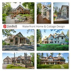 Cottage Design, House Design, Foreseeable Future, Waterfront Property, Commercial Architecture, Close To Home, 30 Years, Custom Homes, Cottages