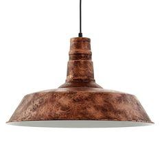 EGLO hanglamp Somerton - antiek koper | Leen Bakker