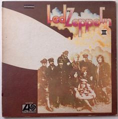 Led Zeppelin - II LP Vinyl Record Album, Atlantic - SD 8236, Classic Rock, 1969, Original Pressing