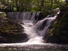 PAISAJES ANIMADOS: Paisajes de cascadas