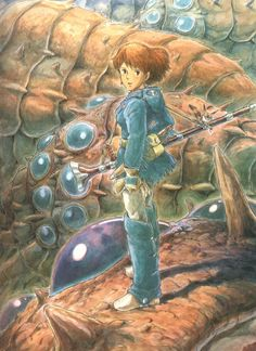 Nausicaa ... her character was impossible for me not to adore. She reminds me of Shakespeare's Cordelia ... a being made out of pure love, willing to go through death for others. When I first saw the film, I wanted so badly to be the princess whom she rescues and frees, and still do.