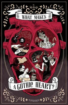 If you are in, near, or visiting Dublin in October, Visit Dublin is celebrating the city's 'Gothic Heart'. More info on events like the Bram Stoker Festival here: http://www.visitdublin.com/insidedublin/Dublin_Insider_Guides/gothic-heart-of-dublin