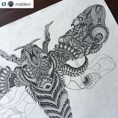 #mandala by @rvaldevi feature tag #inspiringpieces - #art #inspiration #inspiring #drawing #artwork #blackandwhite #artist