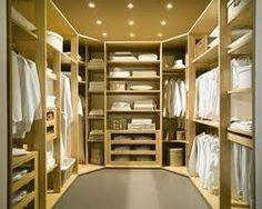 Closet idea - yes!  Everything white....never! lol
