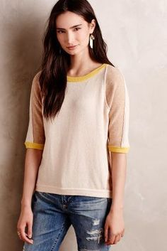 Field Flower by Wendi Reed Colorpatch Pullover #anthrofave