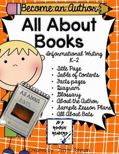 All About Books!  This unit has lesson plans and templates to use during Writer's Workshop to teach students how to write All About Books.
