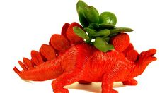 Fun dino planters and other amazing ways to reuse old toys
