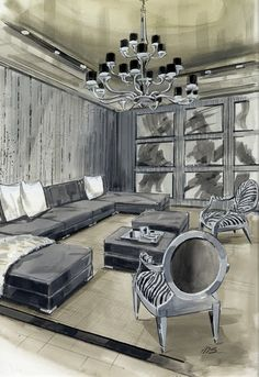 Last week's posts about fashion and interior illustrations seemed to resonate with many of you. A few (myself included) lamented the fact...