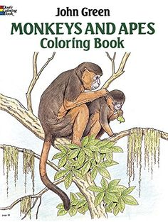 Monkeys And Apes Coloring Book Dover Nature By John Green Amazon Dp 0486257983 Refcm Sw R Pi CohCvb0DZ8FPQ