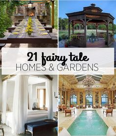 21 Homes That'll Make You Feel Like You're In A Fairy Tale | http://bzfd.it/1pK8vPr
