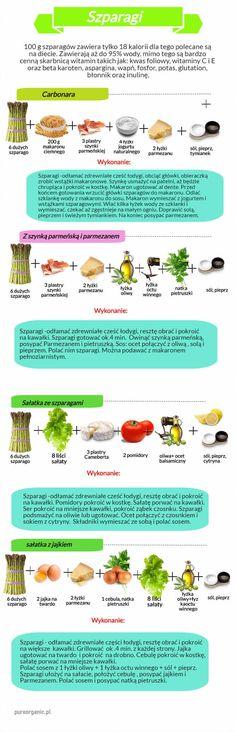 Szparagi – niedługo zaczyna się na nie sezon, a my mamy dla Was propozycję ciekawych potraw ze szparagami.