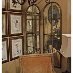 Uttermost Amiel Arch Wall Mirror Medium Floor