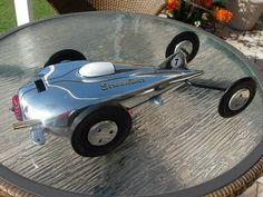 1940's Matthews V Streamliner McCoy.60 Tether Car Model car scale model racing memorabilie
