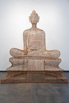Cambodian Sopheap Pich, 'Seated Buddha'